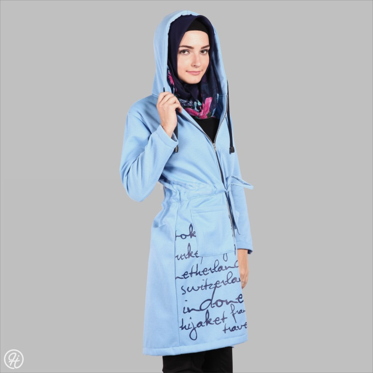 Hijacket Urbanashion HJ-UB-SKY-BLUE-XXL